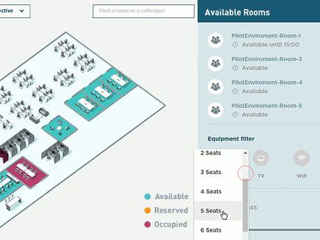 Demo Raum für fünf Personen finden und buchen