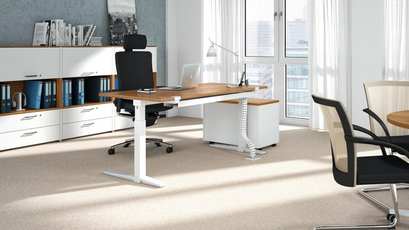 Talos Schreibtisch Mit Steh Sitz Funktion