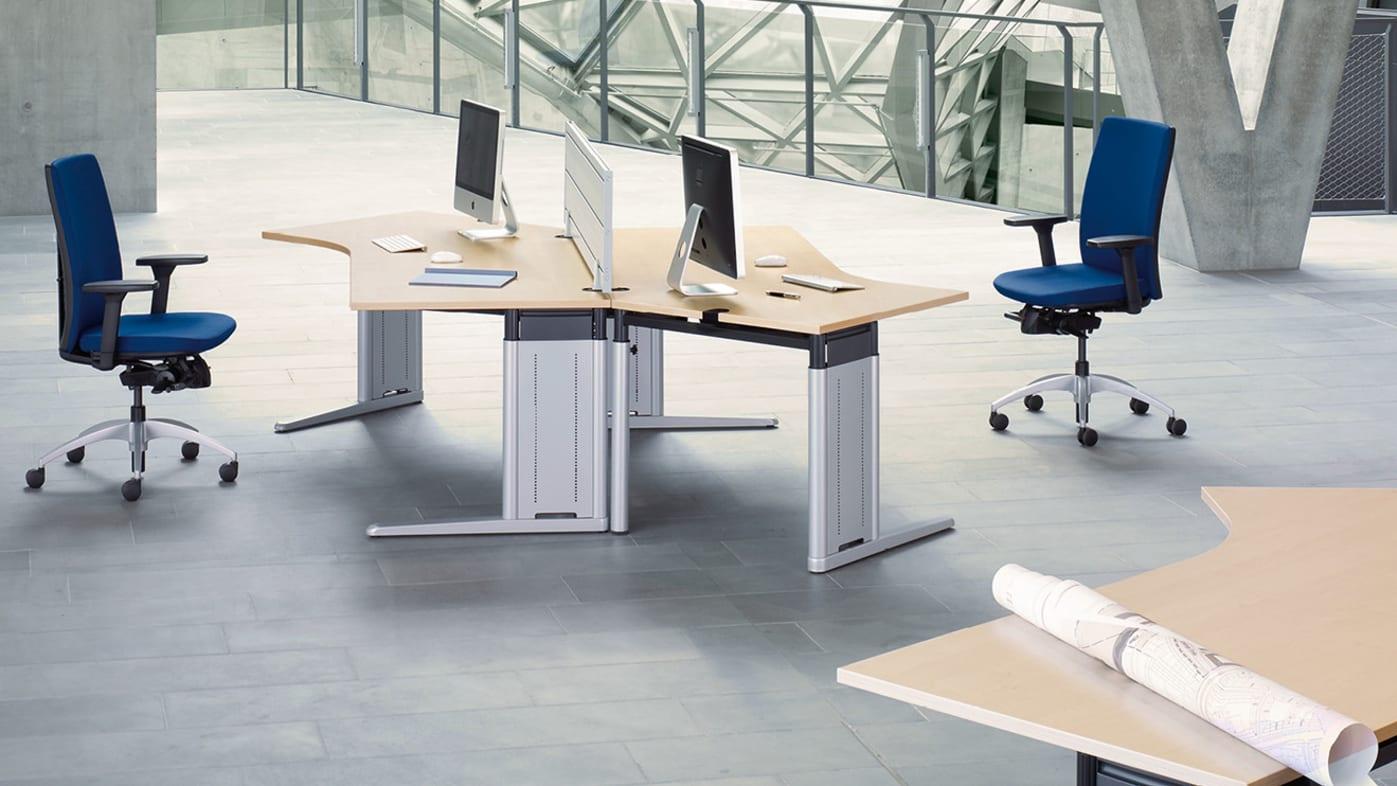 Metra Tische Schreibtische Steh Sitz Arbeitsplätze König