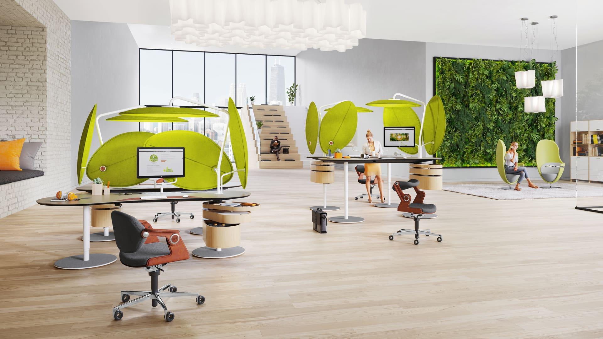 Inspiration Einzelarbeitsplatz-Lösungen | König + Neurath