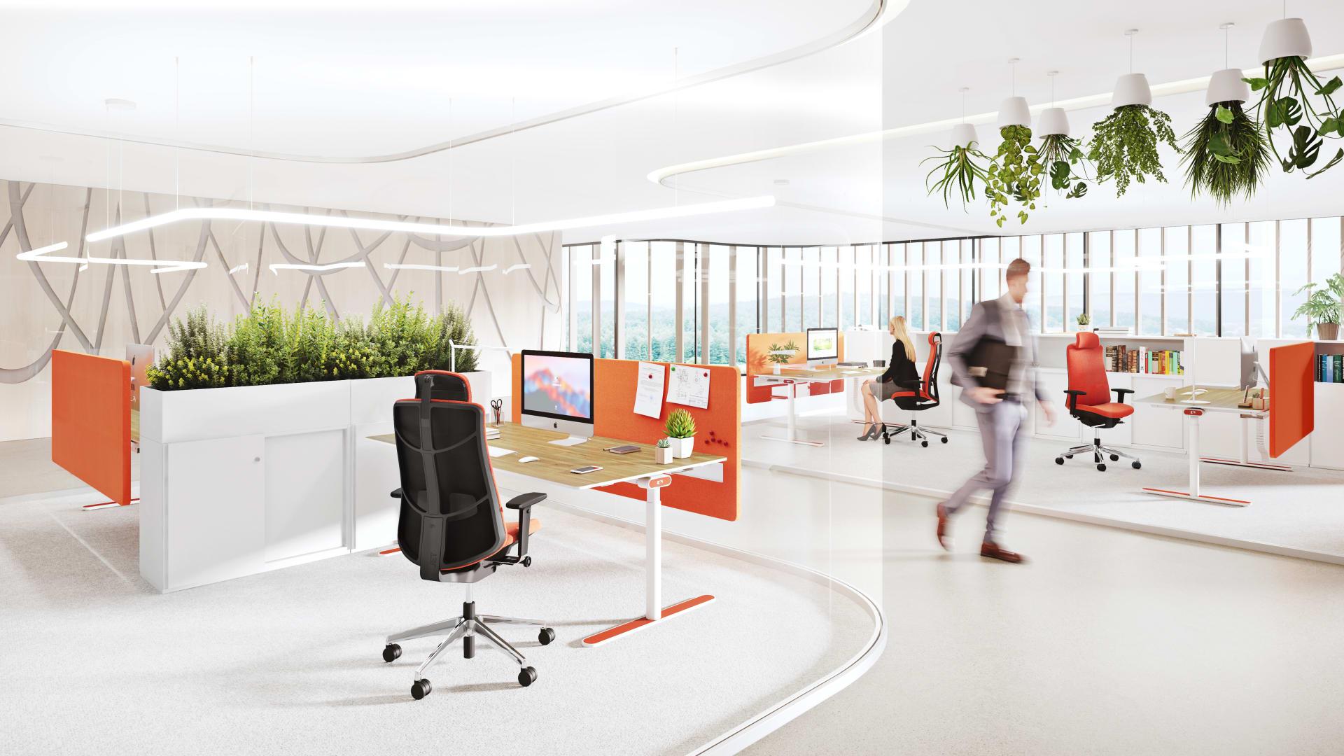 inspiration single workstation solutions k nig neurath. Black Bedroom Furniture Sets. Home Design Ideas