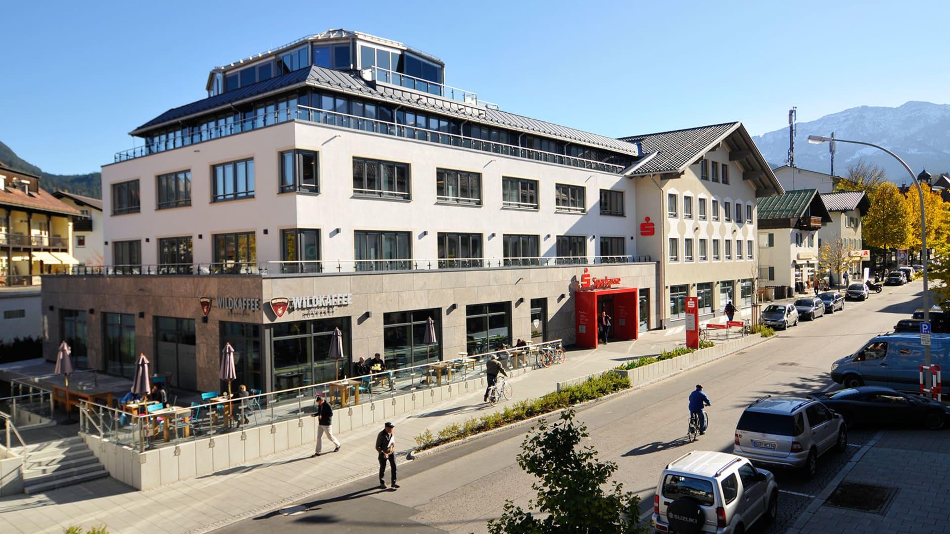 Referenz Kreissparkasse Garmisch-Partenkirchen