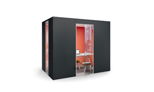 INSIDE.CUBE - Space to think, discuss and retreat.