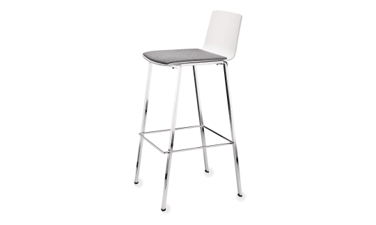 PUBLICA bar stool - Clear lines for the reception area and service points
