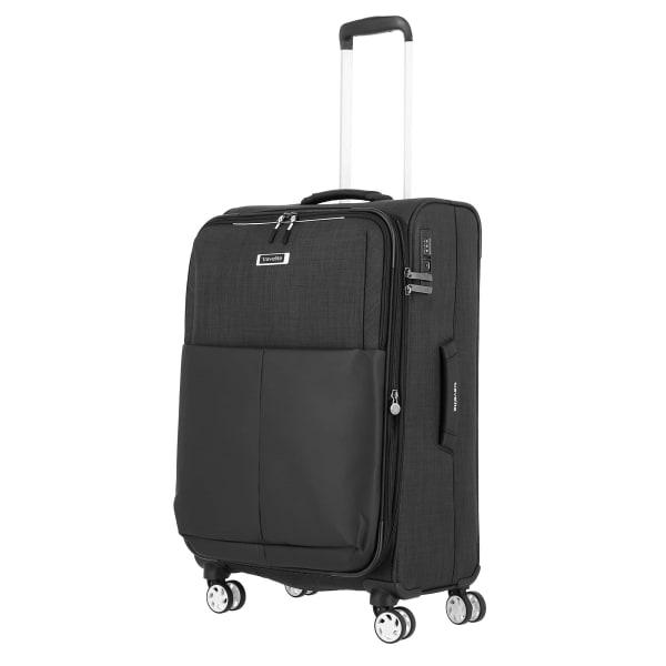Travelite Proof 4-Rollen Trolley erw. 68 cm Produktbild