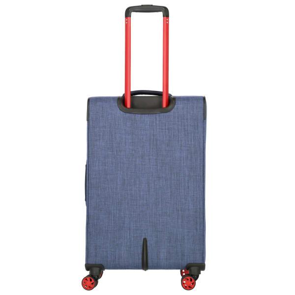 Travelite Proof 4-Rollen Trolley erw. 68 cm Produktbild Bild 2 L