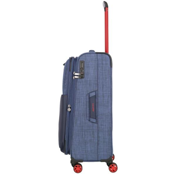 Travelite Proof 4-Rollen Trolley erw. 68 cm Produktbild Bild 3 L