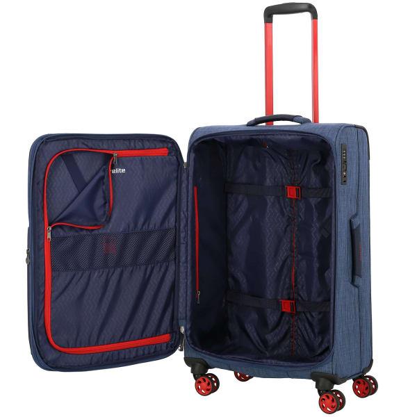 Travelite Proof 4-Rollen Trolley erw. 68 cm Produktbild Bild 4 L