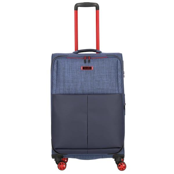 Travelite Proof 4-Rollen Trolley erw. 68 cm Produktbild Bild 8 L