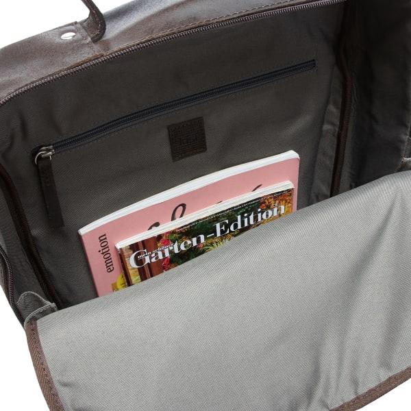 Jost Narvik Daypack Rucksack mit Laptopfach 44 cm Produktbild Bild 6 L