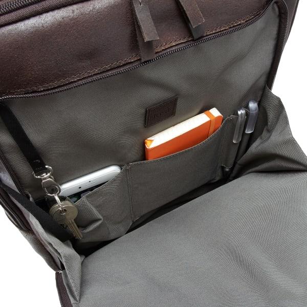 Jost Narvik Daypack Rucksack mit Laptopfach 44 cm Produktbild Bild 7 L