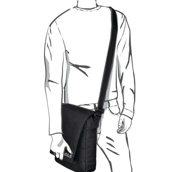 Jack Wolfskin Daypacks & Bags Mag Umhängetasche 34 cm Produktbild Bild 5 L