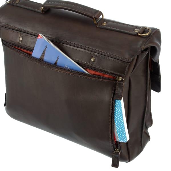 Jost Randers Aktentasche mit Laptopfach 40 cm Produktbild Bild 8 L