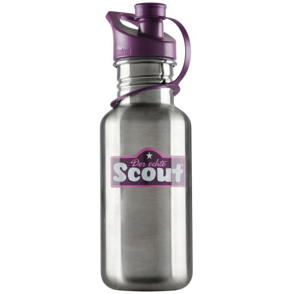 Scout Edelstahl Trinkflasche 19 cm Produktbild