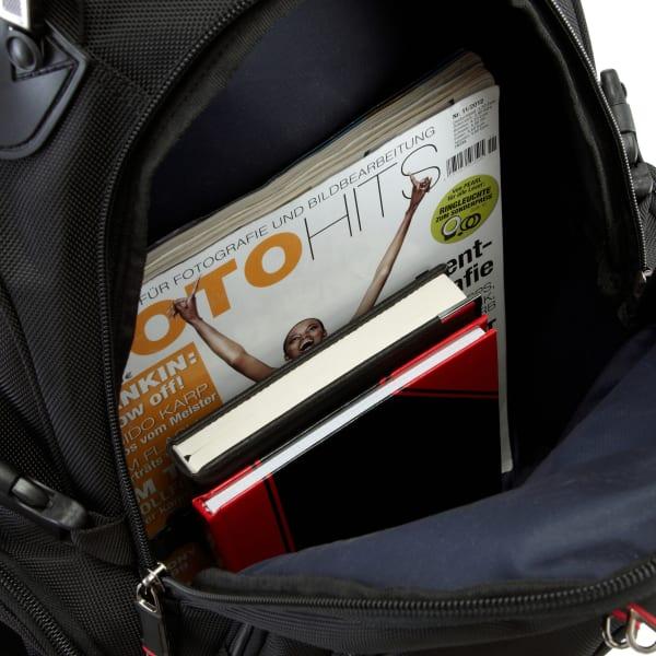 Leonhard Heyden Soho Basic Rucksack mit Laptopfach 46 cm Produktbild Bild 5 L