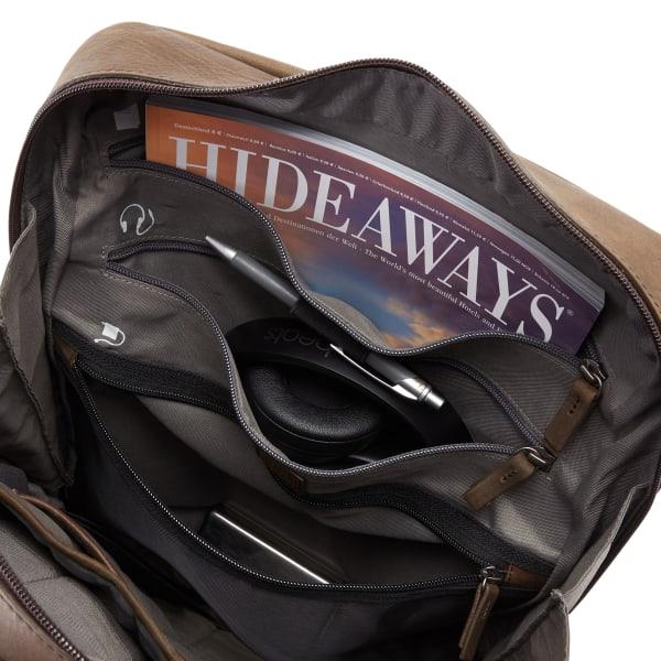 Jost Salo Daypack Rucksack mit Laptopfach 44 cm Produktbild Bild 5 L