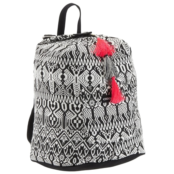 Chiemsee Sports & Travel Bags Black & White Rucksack 41 cm Produktbild