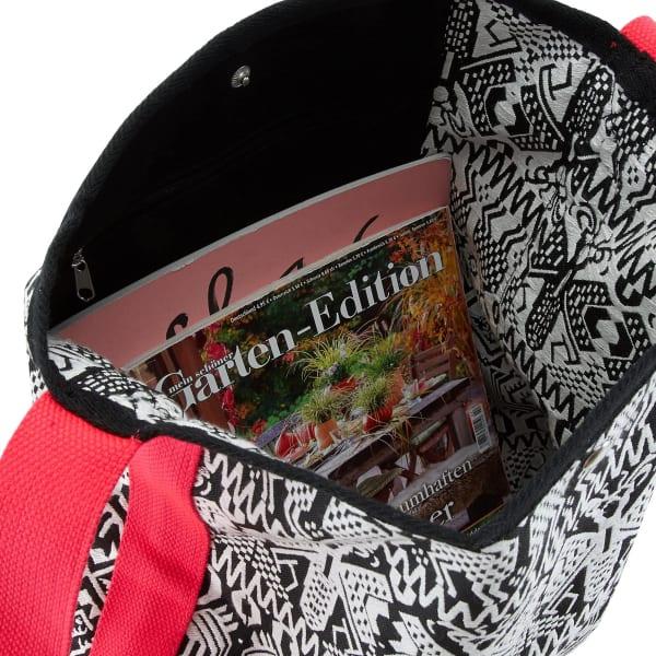 Chiemsee Sports & Travel Bags Black & White Umhängetasche 40 cm Produktbild Bild 5 L