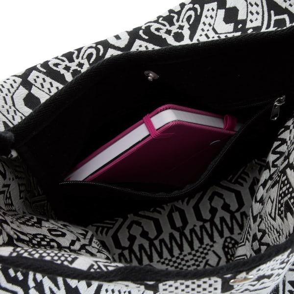 Chiemsee Sports & Travel Bags Black & White Umhängetasche 40 cm Produktbild Bild 6 L