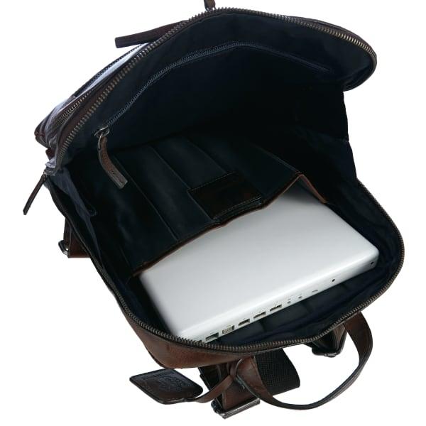 Leonhard Heyden Roma Rucksack mit Laptopfach 40 cm Produktbild Bild 5 L