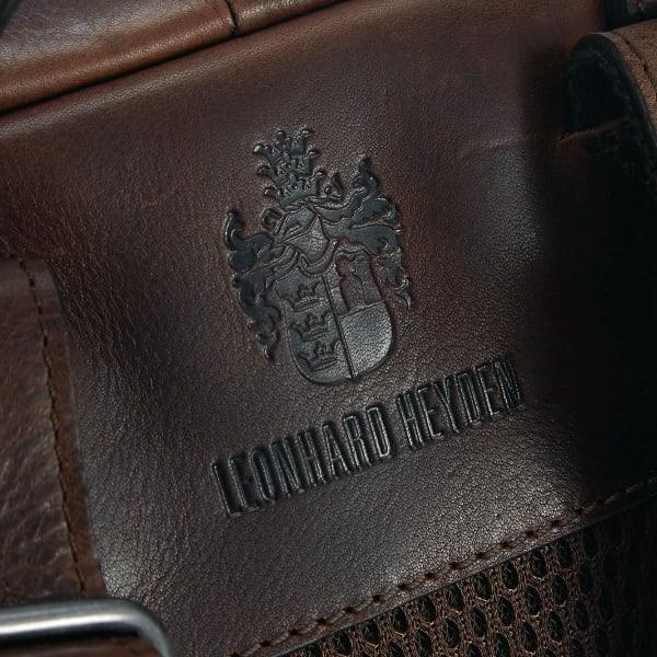 Leonhard Heyden Roma Rucksack mit Laptopfach 40 cm Produktbild Bild 8 L