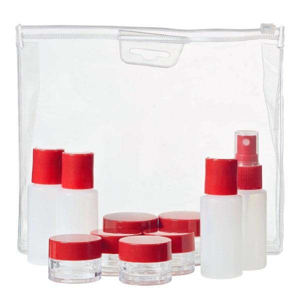 Wenger Reisezubehör 10-teiliges Reiseflaschen-Set 19 cm Produktbild