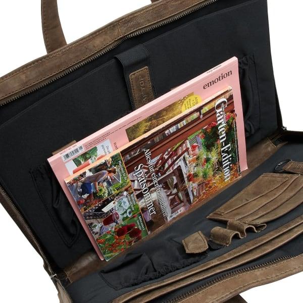 Plevier Pure Businesstasche 44 cm Produktbild Bild 4 L