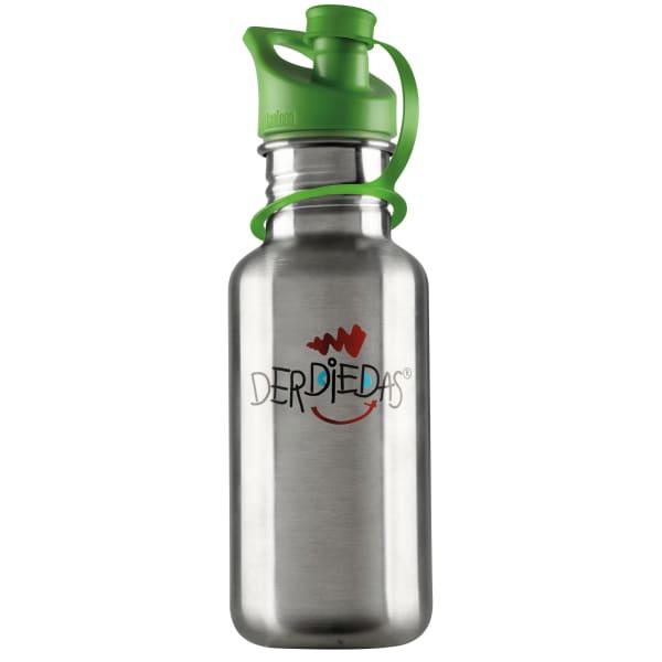 DerDieDas Edelstahl Trinkflasche 19 cm Produktbild