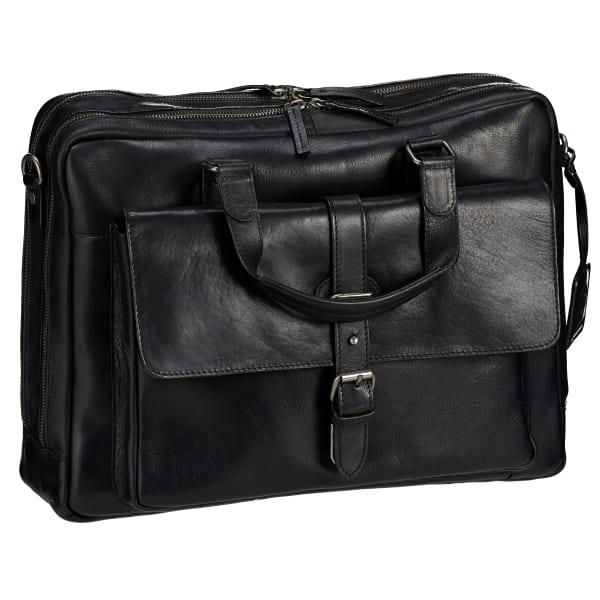 Leonhard Heyden Roma Kurzgrifftasche mit Laptopfach 41 cm Produktbild