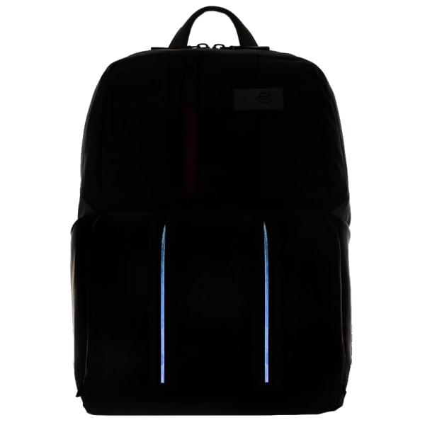 Piquadro Urban LED Laptop-Rucksack 39 cm Produktbild Bild 7 L