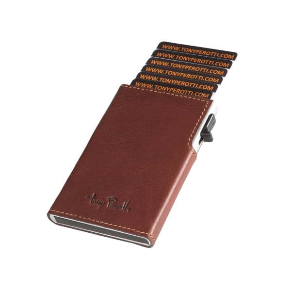 Tony Perotti Furbo Kreditkarten-Etui Leder Slim RFID 9 cm Produktbild