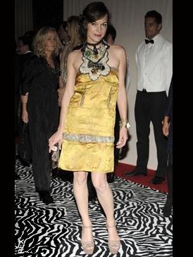 Sienna Miller Tod's Crocdile Handbag