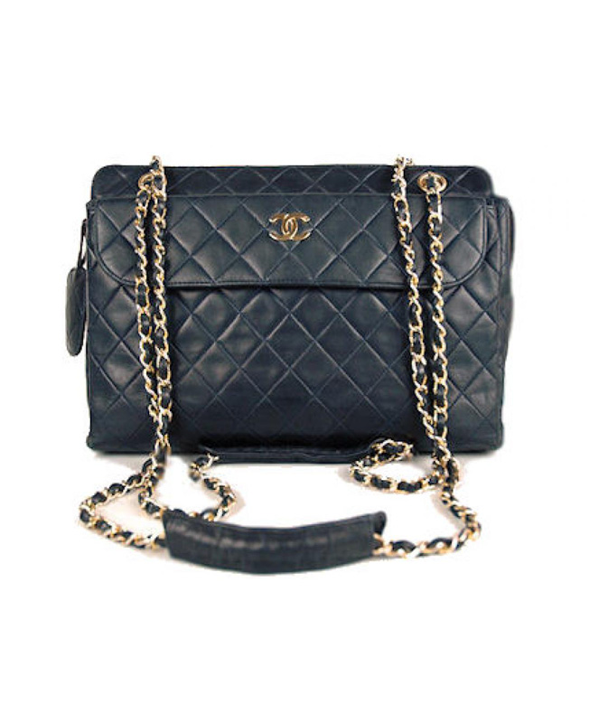 da76be106020 Buy Chanel Black Lambskin Vintage Quilted Large Camera Bag at KoKo Royale