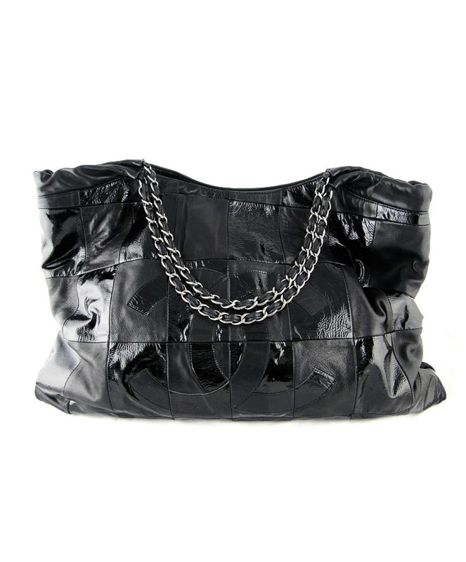 503f21bd9d0d Buy Chanel Black Lambskin Oversized Coco Cabas Brooklyn Tote Bag at KoKo  Royale