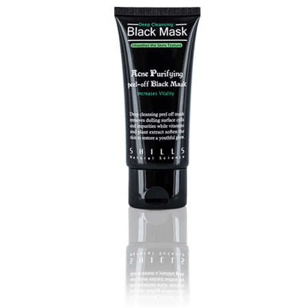 Shills Skincare Facemask Product Package with Reflection