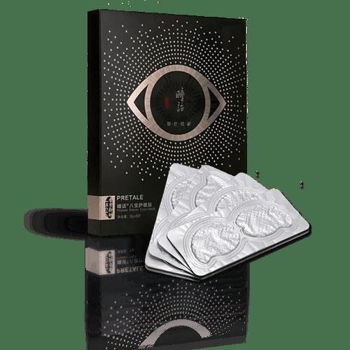 Pretail Eye Mask Box Set & 4 of 8 Packs Main Image