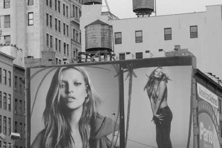 Kate Moss Billboard