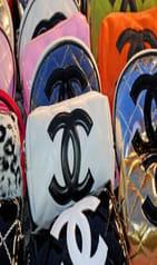 Gwen Stefani Panel Clutch Bag