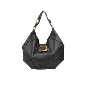 Roger Vivier Geometric Hobo Shoulder Bag