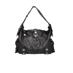 Chloe Black Leather Silverado Hobo Bag