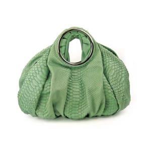 Jane August 57th Street Python Satchel Bag