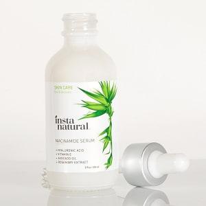 InstaNatural Niacinamide Serum - Facial Age Reducer Bottle