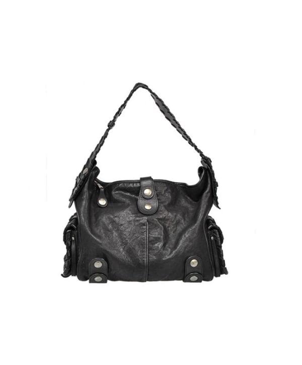 Chloe Black Leather Silverado Hobo Bag