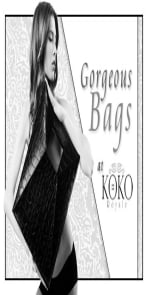 Heidi Klum Zebra Handbag
