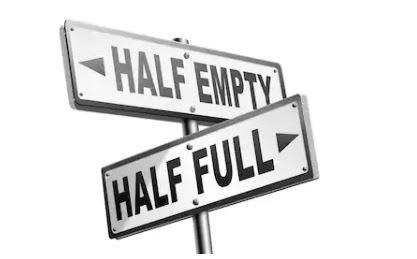 half empty vs half full glass