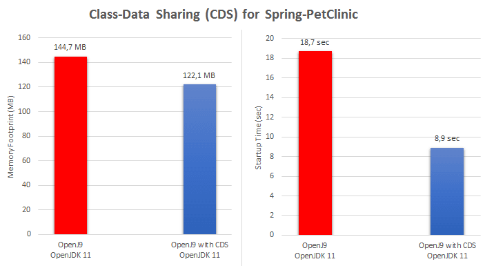 Class-Data Sharing (CDS) for Spring-PetClinic