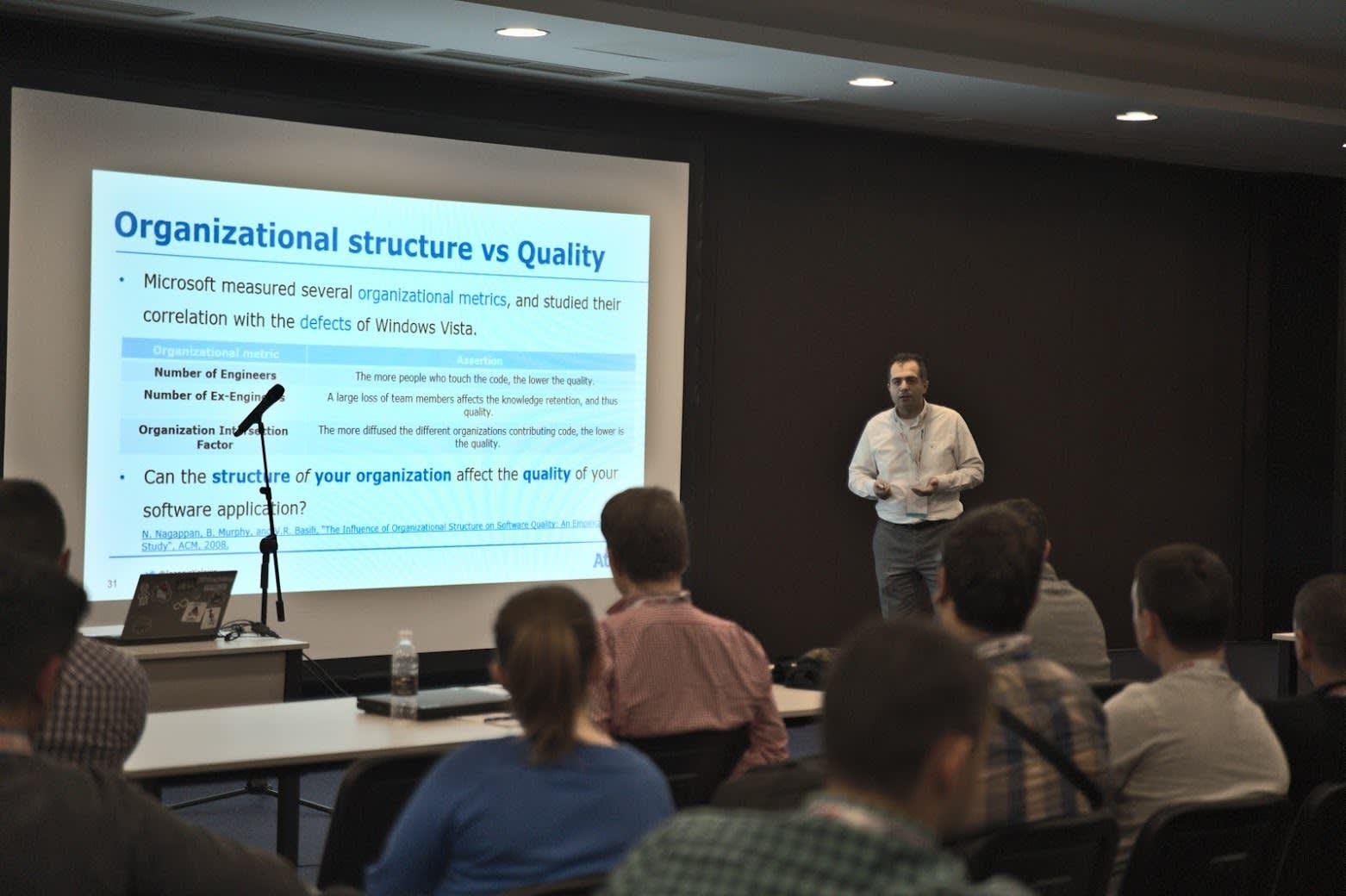 2019 Dec 10-12 - Java2Days, Sofia/Bulgaria - Presentation on How to Improve Software Quality