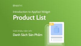 Introduction to Product List Widget