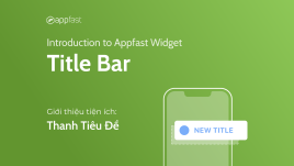 Introduction to Title Bar Widget