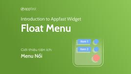 Introduction to Float Menu Widget